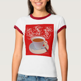 """""""Let's have a lovely cup of tea"""" T Shirt"""