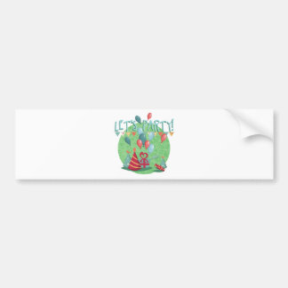 let's have A party childrens birthday Bumper Sticker