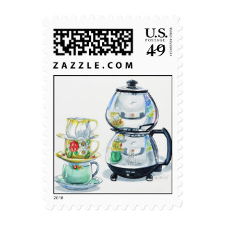 Let's Have Another Cup of Coffee Postage Stamp