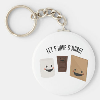 Let's Have S'more! Keychains