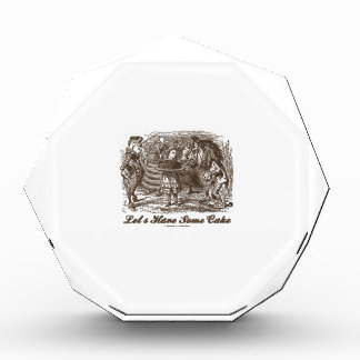 Let's Have Some Cake (Alice Unicorn Lion) Award