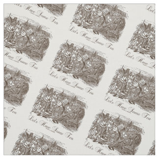 Let's Have Some Tea (Wonderland Alice) Fabric