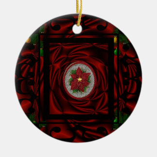 """""""lets Have The Merriest Xmas""""tree ornament.* Ceramic Ornament"""