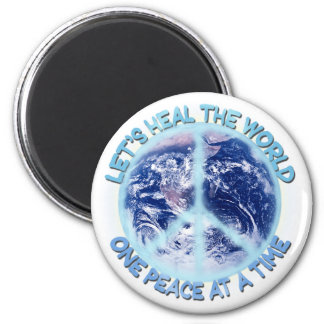 Let's heal the World Magnet