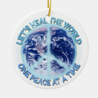 Let's heal the World Ornaments
