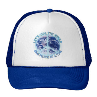Let's heal the World Trucker Hat