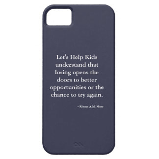 Let's Help Kids iPhone 5/5S, Barely There iPhone SE/5/5s Case