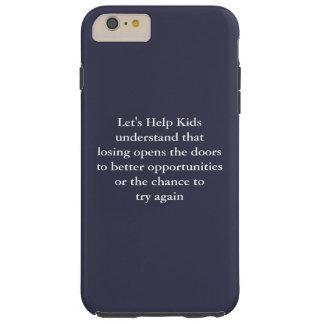 Let's Help Kids iPhone 6/6s Plus, Tough Tough iPhone 6 Plus Case