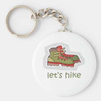 Let's Hike Keychain