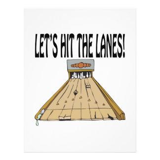 Lets Hit The Lanes Full Color Flyer