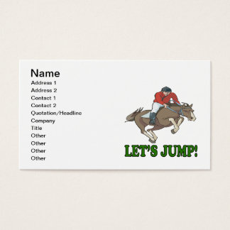 Lets Jump Business Card