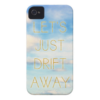 Let's Just Drift Away iPhone 4 Cover