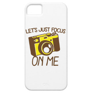Let's just FOCUS on me! with vintage camera iPhone SE/5/5s Case