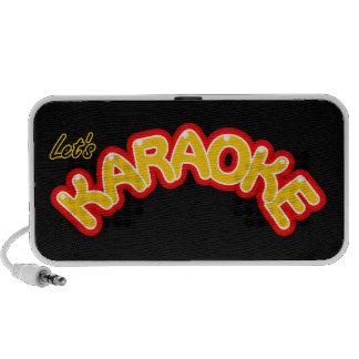 Let's Karaoke Speaker