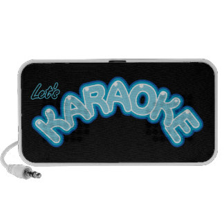 Let's Karaoke Notebook Speaker