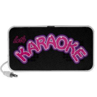 Let's Karaoke iPhone Speaker