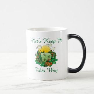 Let's Keep It This Way Earth Day Magic Mug