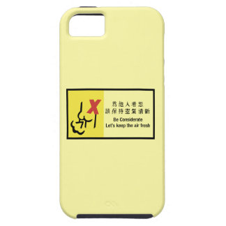 Let's Keep the Air Fresh, Chinese Sign iPhone 5 Cover