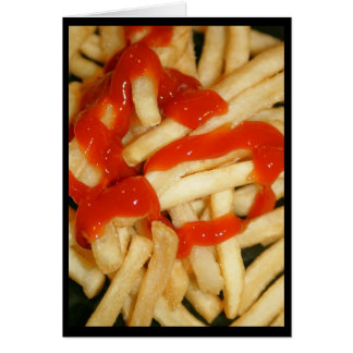 Let's Ketchup Soon! Greeting Card