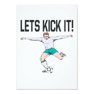 Lets Kick It Card