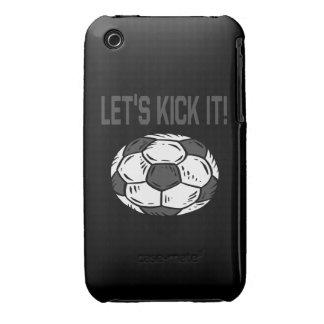Lets Kick It Case-Mate iPhone 3 Case