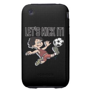 Lets Kick It iPhone 3 Tough Cases