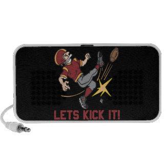 Lets Kick It iPod Speaker