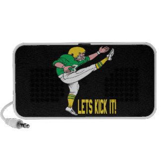 Lets Kick It Laptop Speakers