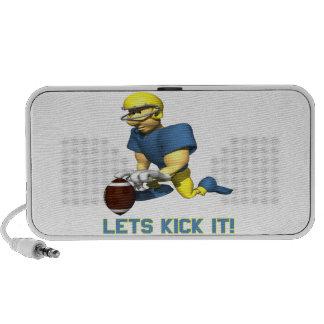 Lets Kick It Mini Speakers