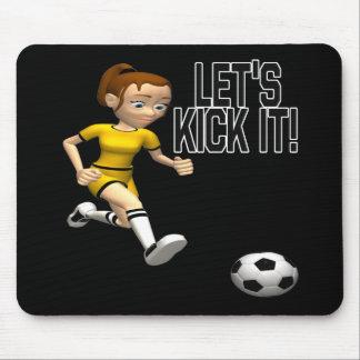 Lets Kick It Mouse Pad