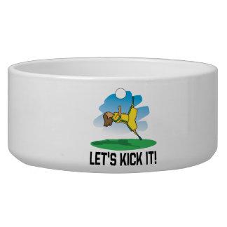 Lets Kick It Pet Water Bowls