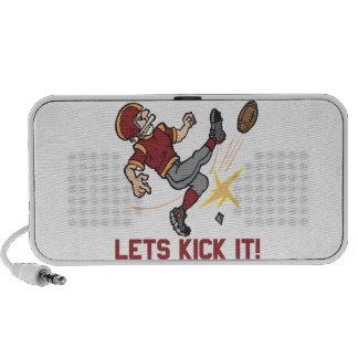 Lets Kick It Speakers