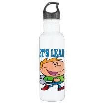 Lets Learn 3 Stainless Steel Water Bottle