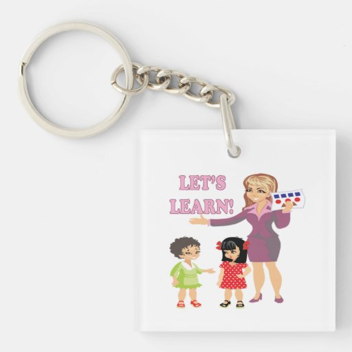 Lets Learn 4 Keychains