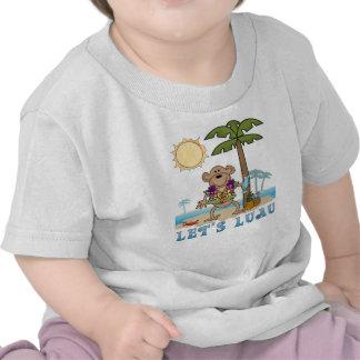 Lets Luau (Boy Monkey) T Shirts