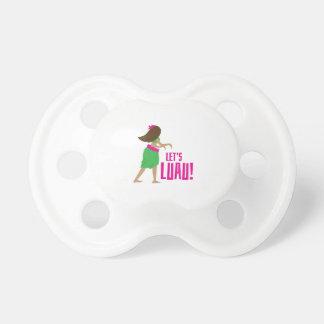 Lets Luau BooginHead Pacifier