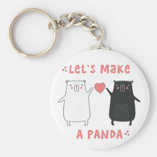 let's make a panda keychain