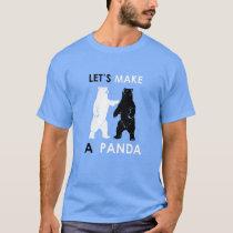 Let's Make A Panda Shirt Funny Polar Bear