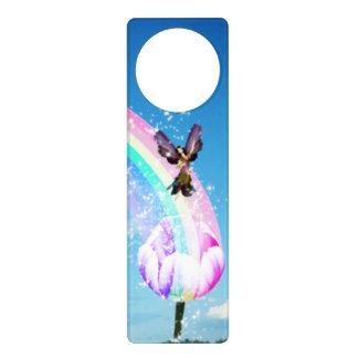 Let's Make a Rainbow Door Hangers