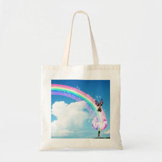 Let's Make a Rainbow Tote Bag