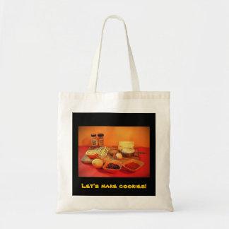 Let's make cookies! canvas bag