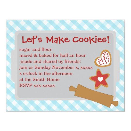 Let's Make Cookies Card