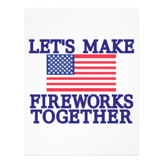 Lets Make Fireworks Letterhead