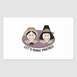 Lets Make Friends Stickers