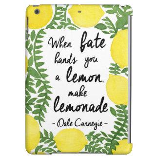 Let's Make Lemonade Case For iPad Air