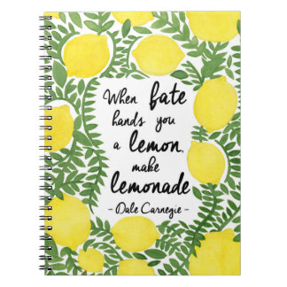 Let's Make Lemonade Notebook