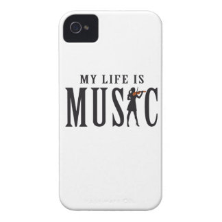 let's make music female violin more player Case-Mate iPhone 4 case