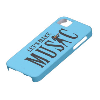 let's make music female violin more player iPhone SE/5/5s case