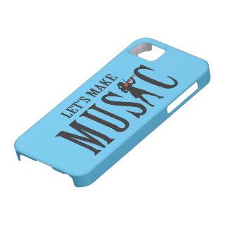 let's make music female violin more player iPhone SE/5/5s case