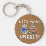 Lets make S'mores! Keychain